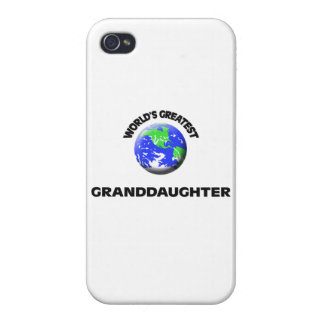 World's Greatest Granddaughter iPhone 4 Cover