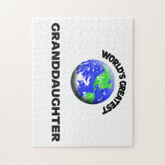 World's Greatest Granddaughter Jigsaw Puzzles