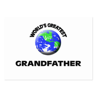 World's Greatest Grandfather Business Card Template