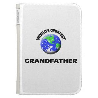 World's Greatest Grandfather Kindle Folio Case