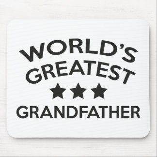 World's Greatest Grandfather Mouse Pad