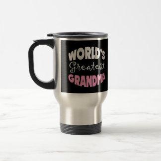 World's Greatest Grandma 15 Oz Stainless Steel Travel Mug