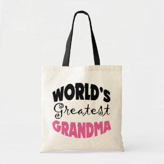 World's Greatest Grandma Tote Bags