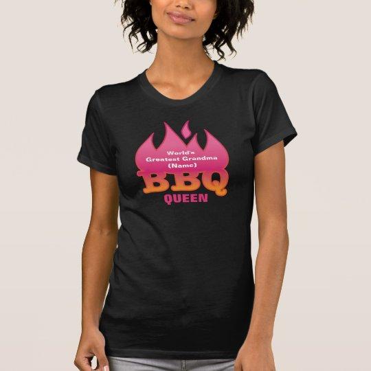 World's Greatest Grandma BBQ QUEEN T-Shirt