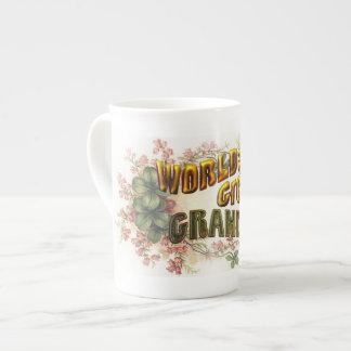 World's Greatest Grandma Bone China Mugs