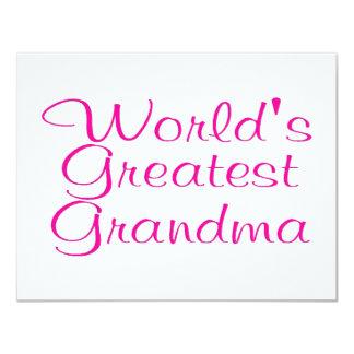 Worlds Greatest Grandma Card