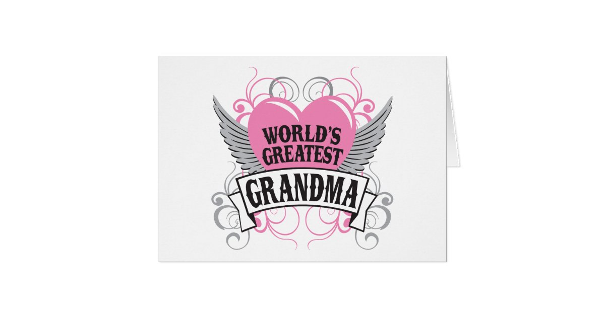 World U0026 39 S Greatest Grandma Card