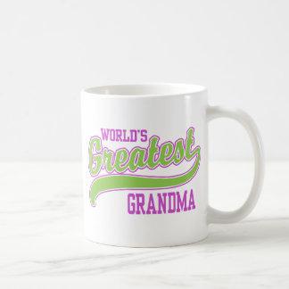 World's Greatest Grandma Coffee Mug
