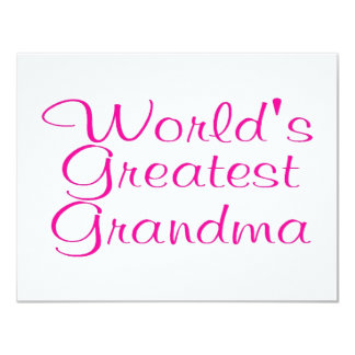 Worlds Greatest Grandma Announcement