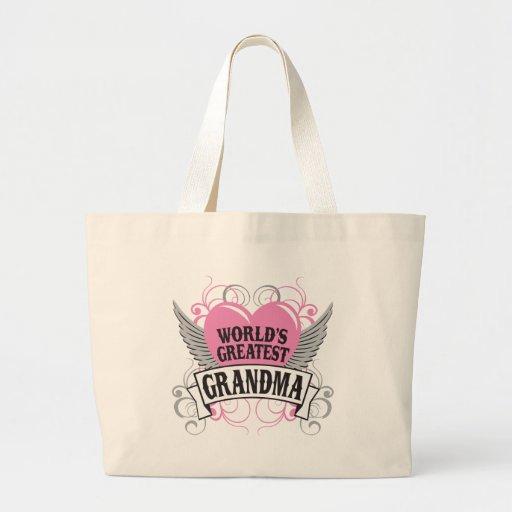 World's Greatest Grandma Jumbo Tote Bag