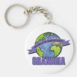 World's Greatest Grandma Keychain