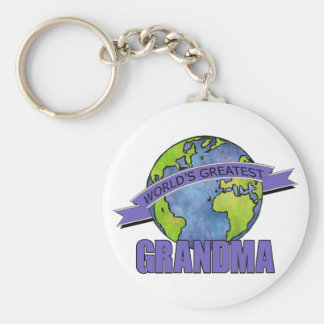 World's Greatest Grandma Keychain