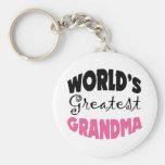 World's Greatest Grandma Keychains