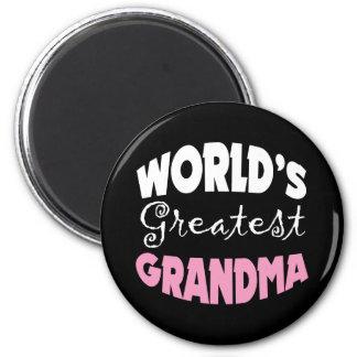 Worlds Greatest Grandma Refrigerator Magnet