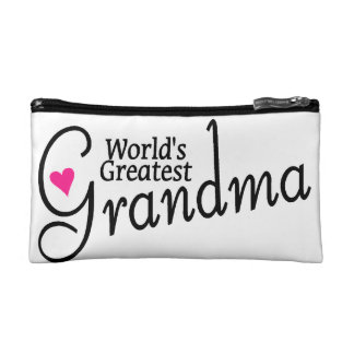 Worlds Greatest Grandma Makeup Bag