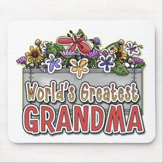 World's Greatest Grandma Mousepads