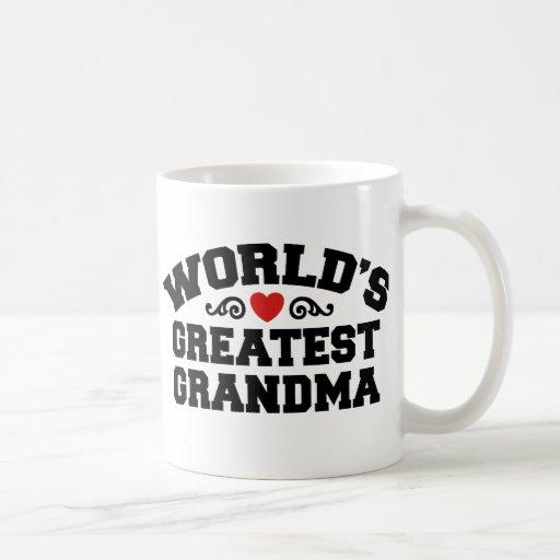 World's Greatest Grandma Coffee Mugs