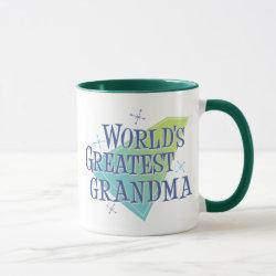 Mug with World's Greatest Grandma design