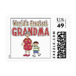 World's Greatest Grandma Stamps