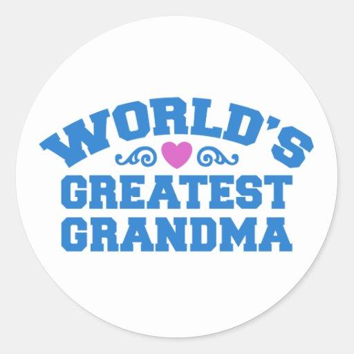 World's Greatest Grandma Sticker