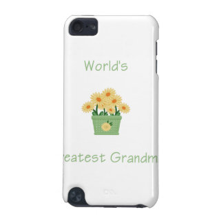 world's greatest grandma (yellow flowers) iPod touch (5th generation) covers