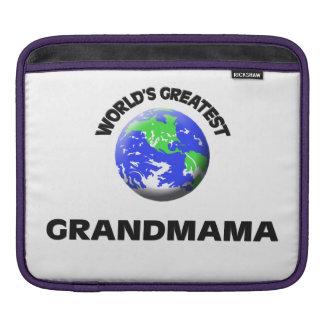 World's Greatest Grandmama iPad Sleeves