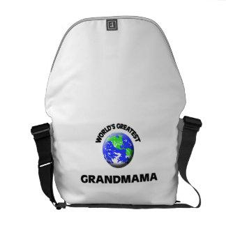 World's Greatest Grandmama Messenger Bags