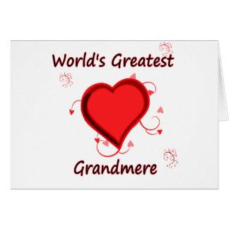 World's Greatest grandmere Card