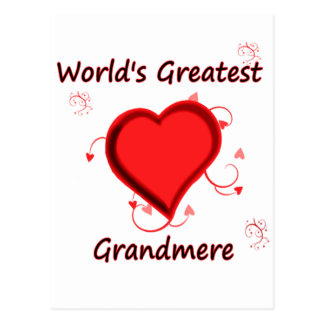 World's Greatest grandmere Postcard