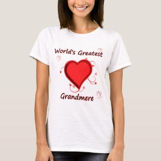 World's Greatest grandmere T-Shirt