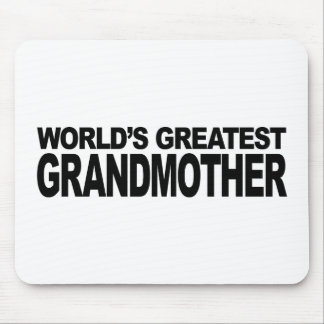 World's Greatest Grandmother Mousepad