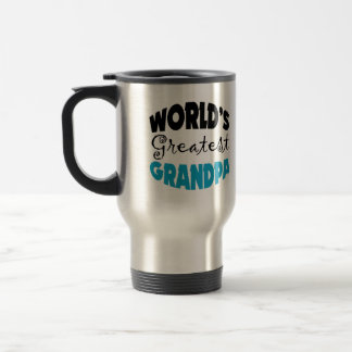 World's Greatest Grandpa 15 Oz Stainless Steel Travel Mug