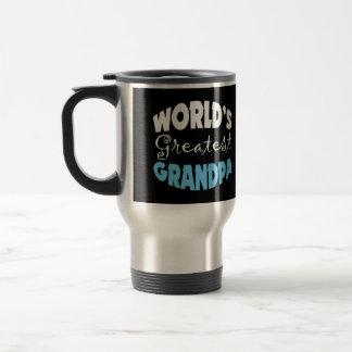 Worlds Greatest Grandpa 15 Oz Stainless Steel Travel Mug