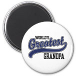 World's Greatest Grandpa 2 Inch Round Magnet