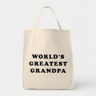 World's Greatest Grandpa Tote Bags