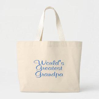 Worlds Greatest Grandpa Bags