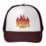 World's Greatest Grandpa BBQ KING Trucker Hat