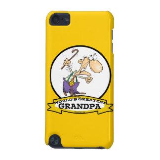 WORLDS GREATEST GRANDPA CARTOON iPod TOUCH 5G CASE