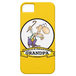 WORLDS GREATEST GRANDPA CARTOON iPhone SE/5/5s CASE