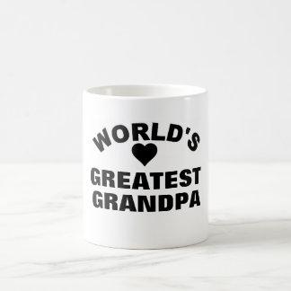 World's Greatest Grandpa Coffee Mug