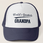 "World&#39;s Greatest Grandpa hat<br><div class=""desc"">Show Grandpa how much you love him with a World&#39;s Greatest Grampa hat!  Also available on any style shirt or sweatshirt.</div>"