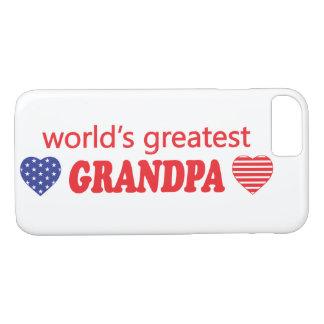 WORLDS GREATEST GRANDPA iPhone 7 CASE