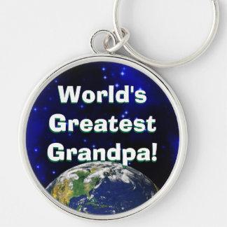 World's Greatest Grandpa! Keychain