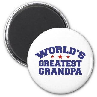 World's Greatest Grandpa Fridge Magnet