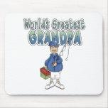 World's Greatest Grandpa Mouse Mats