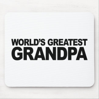 World's Greatest Grandpa Mouse Pad