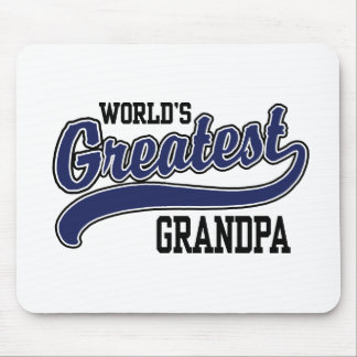 World's Greatest Grandpa Mouse Pads