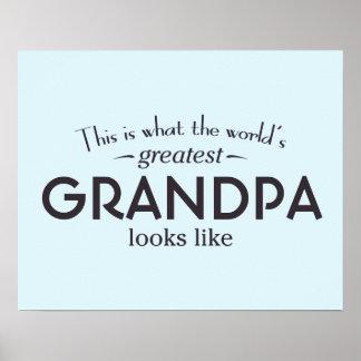 World's Greatest Grandpa Poster