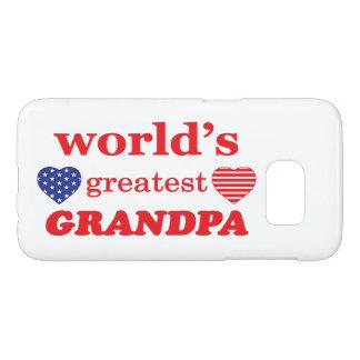 WORLDS GREATEST GRANDPA SAMSUNG GALAXY S7 CASE