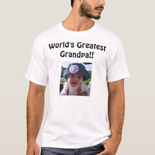 Worlds Greatest Grandpa T_Shirt